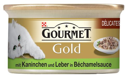 Gourmet | Gold Délicatesse mit Kaninchen und Leber in Béchamelsauce
