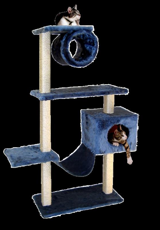 CAT DREAM   Kletterbaum Maxi blau