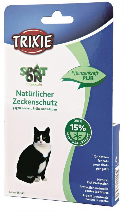 Trixie   Spot On Natürlicher Zeckenschutz, Katze