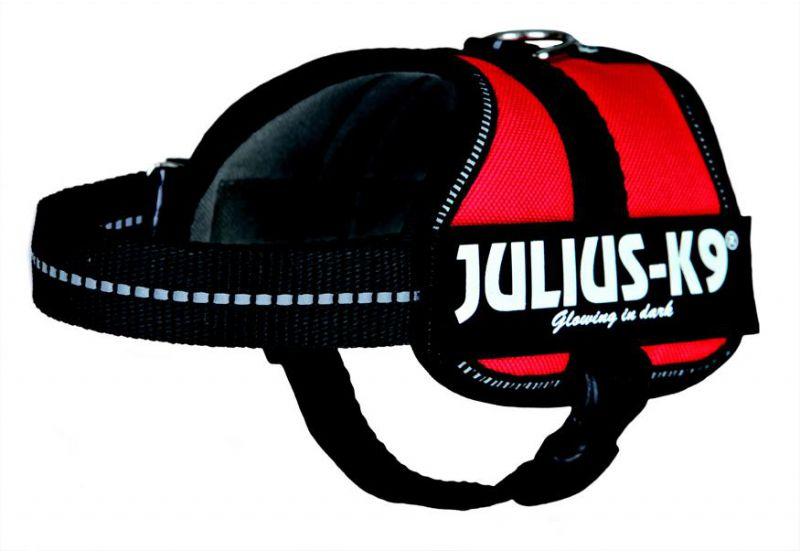 Julius K-9   Powergeschirr rot