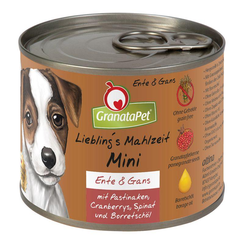 GranataPet   Liebling´s Mahlzeit Mini Ente & Gans