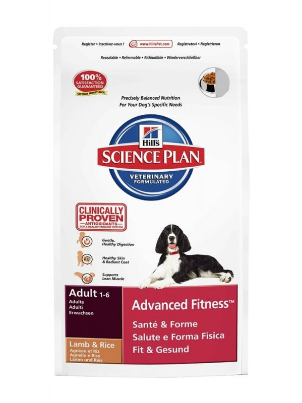 Hill's | Science Plan Canine Adult Advanced Fitness Lamm & Reis