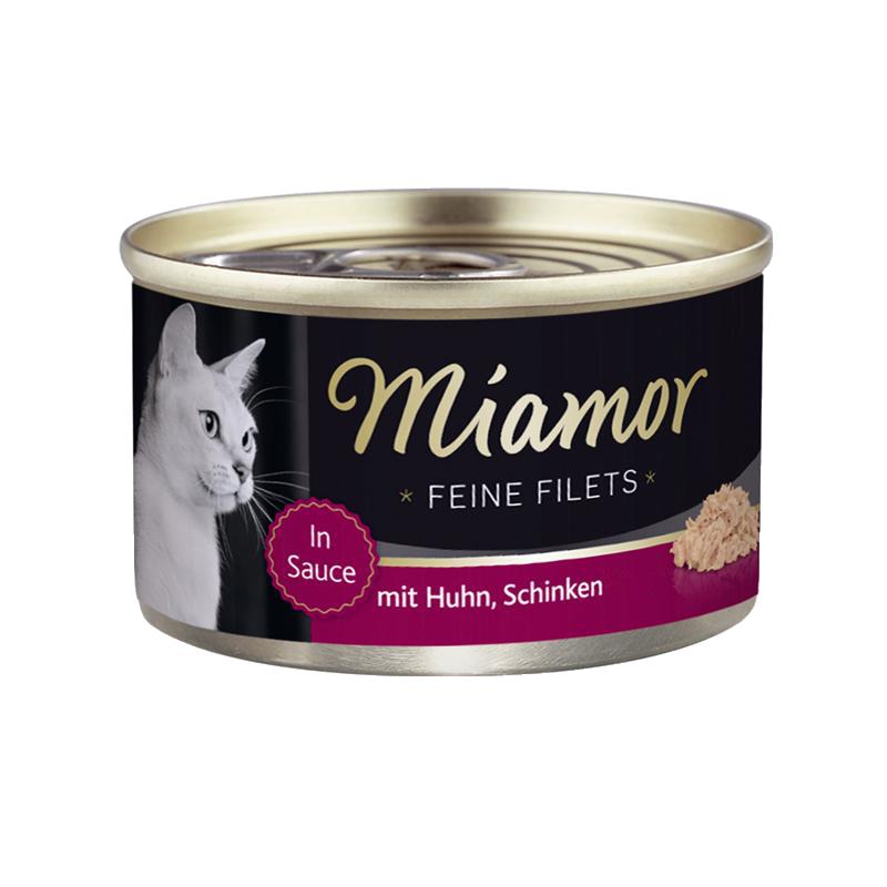 Miamor | Feine Filets mit Huhn & Schinken