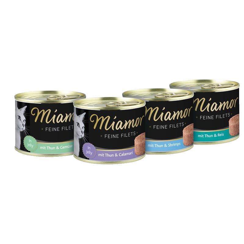 Miamor | Feine Filets Thunfisch & Reis