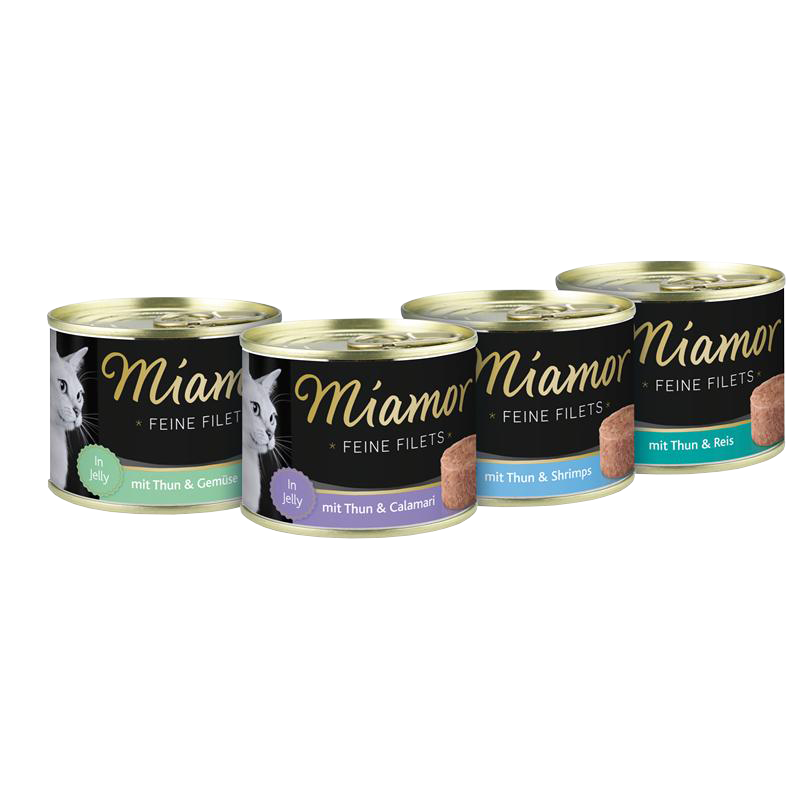 Miamor | Feine Filets Thunfisch & Calamari