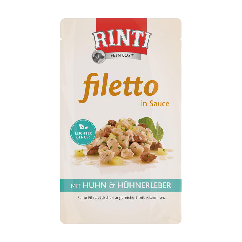 Rinti | Filetto in Sauce Huhn & Huhnleber