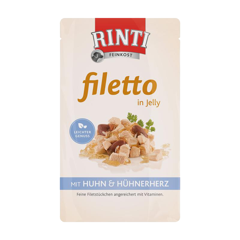 Rinti | Filetto in Jelly Huhn & Hühnerherz