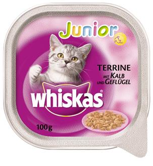 Whiskas | Junior mit Kalb und Geflügel
