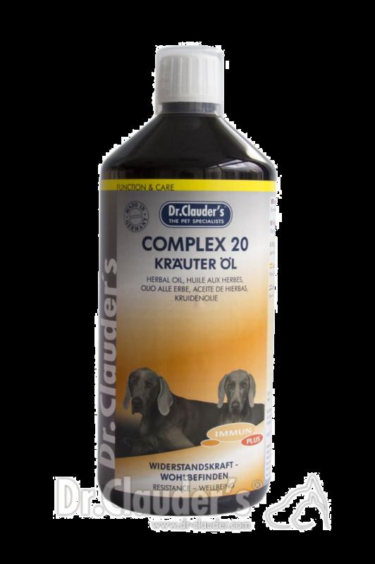 Dr. Clauder's | Function & Care Immun Plus Complex 20 Kräuter Öl