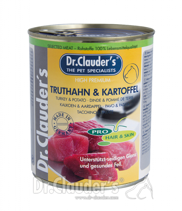 Dr. Clauder's | Selected Meat Pro Hair & Skin Truthahn & Kartoffel