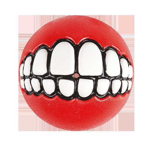 Rogz | Grinz-Ball zum Befüllen in Rot