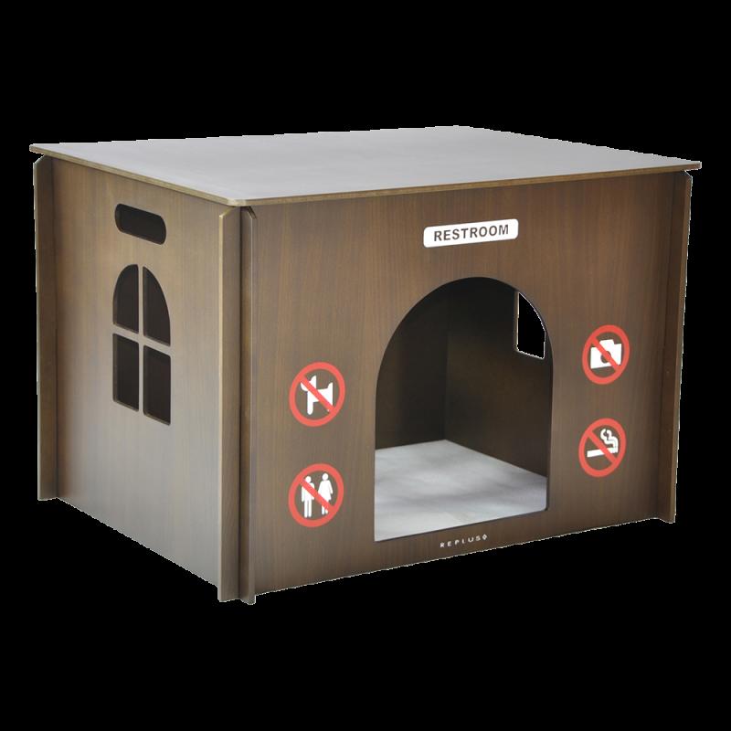 Replus | Heimtier-WC Secret Service in Tabac