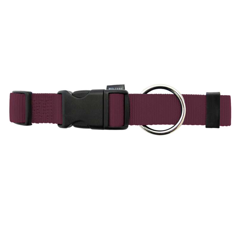 Wolters | Halsband Basic in Brombeer