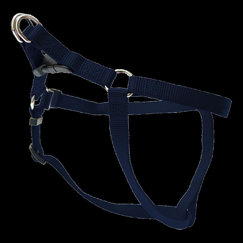 Wolters | Geschirr Basic One-Touch in Marine-Blau