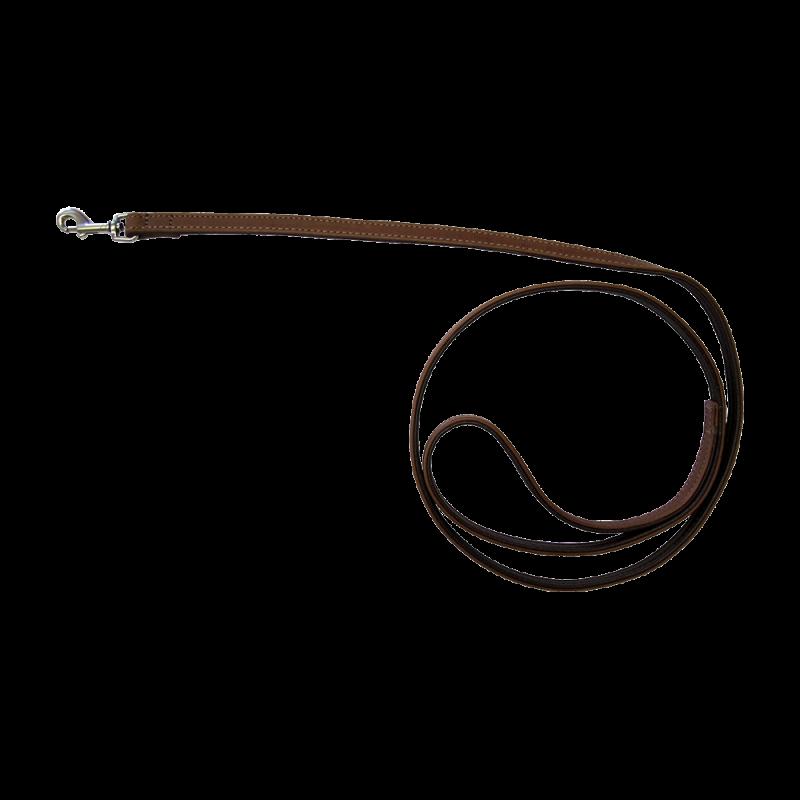 Wolters | Führleine Terravita flach in Kokosnuss/Nougat
