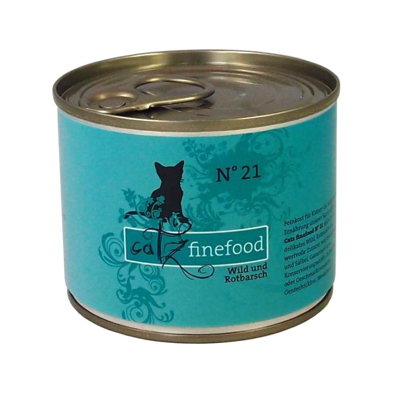 Catz finefood   No. 21 Wild & Rotbarsch