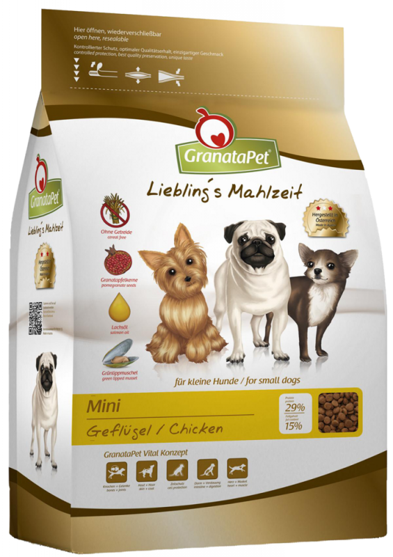 GranataPet | Liebling's Mahlzeit Mini Adult Geflügel