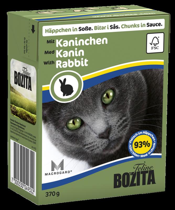 Bozita | Feline Häppchen in Soße mit Kaninchen