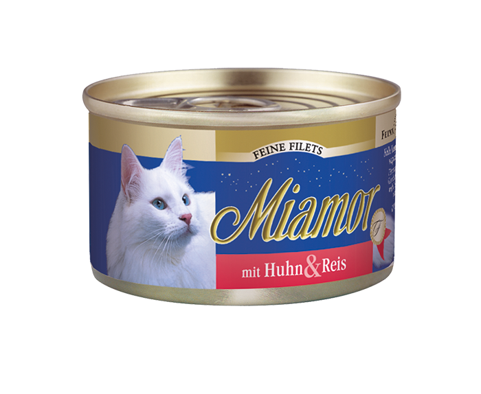 Miamor | Feine Filets mit Huhn & Reis