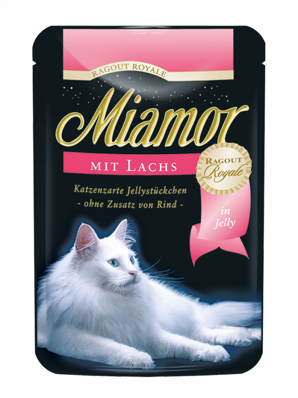 Miamor | Ragout Royale mit Lachs in Jelly