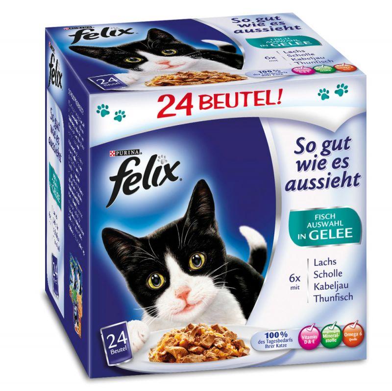 Felix | Portionsbeutel Multipack So gut wie es aussieht Fisch