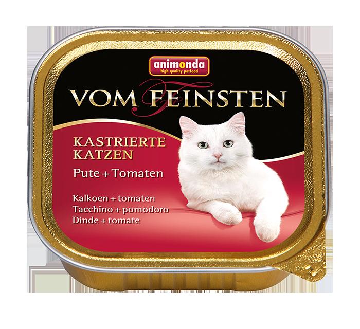 Animonda   Vom Feinsten Kastrierte Katzen Pute & Tomaten