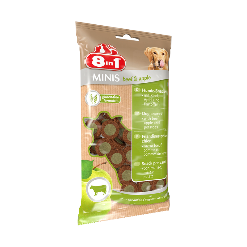 8in1 | Minis beef & apple