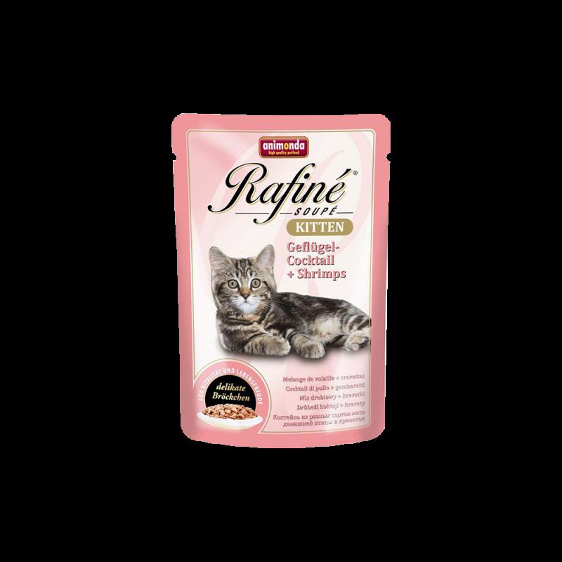 Animonda | Rafine Soupé Kitten Geflügel-Cocktail & Shrimps