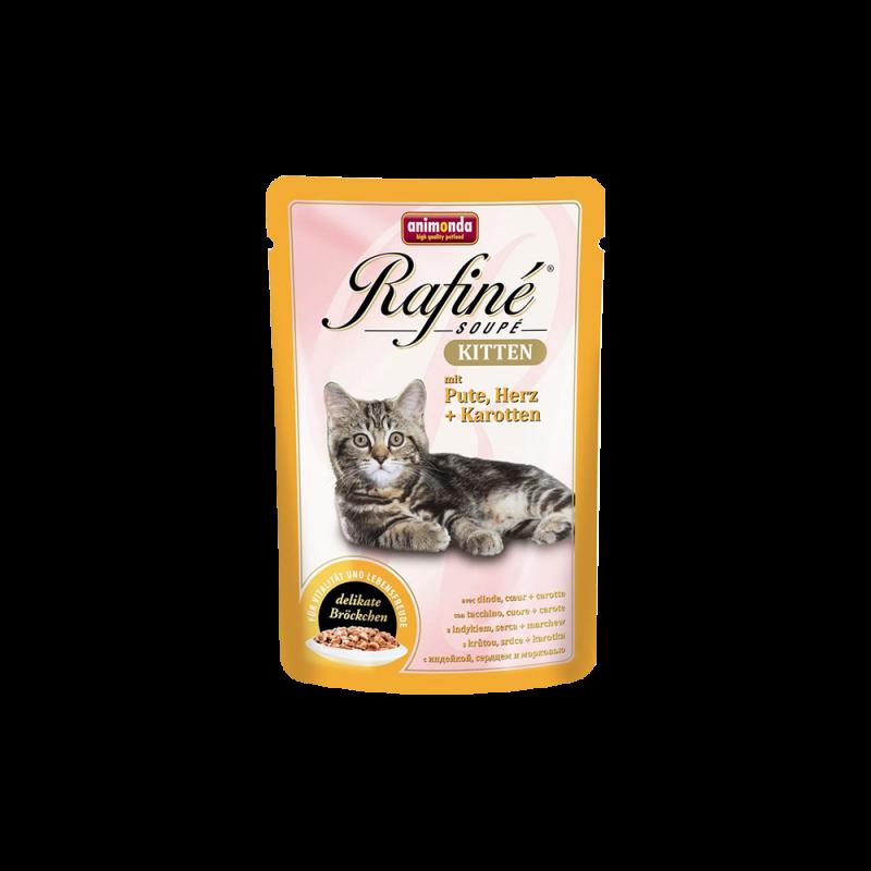 Animonda   Rafine Soupé Kitten Pute, Herz & Karotten