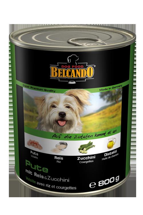 Belcando   Pute mit Reis & Zucchini