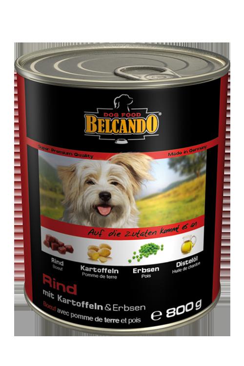 Belcando | Rind mit Kartoffeln & Erbsen