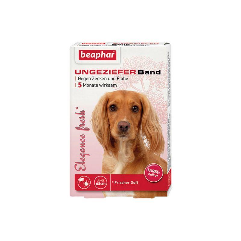 Beaphar   Elègance fresh Ungezieferband Hund, rot