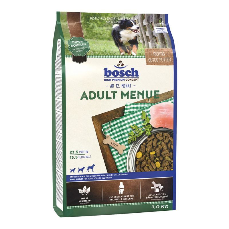 Bosch | Adult Menue