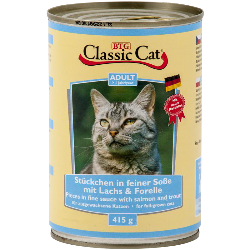 Classic Cat   Lachs & Forelle in Soße