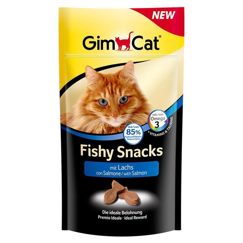 Gimcat   Fishy Snacks mit Lachs