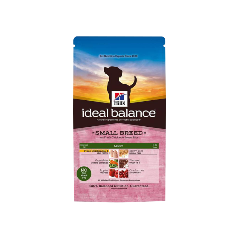 Hill's | Ideal Balance Adult Small Breed with Fresh Chicken & Brown Rice