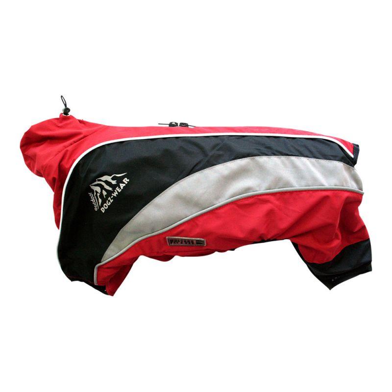 Wolters   Regenanzug Dogz Wear wasserdichtem RV rot/schwarz