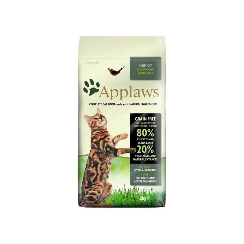 Applaws   Katze Trockenfutter Hühnchen mit Lamm