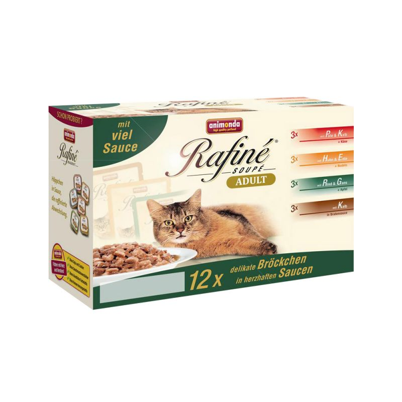 Animonda | Cat Portionsbeutel Rafine Soupe im Multipack