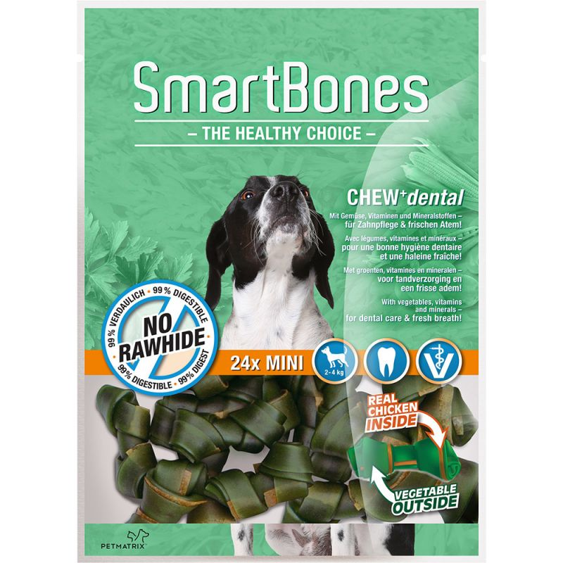 Petmatrix | SmartBones, Dental, Mini, 24er-Pack