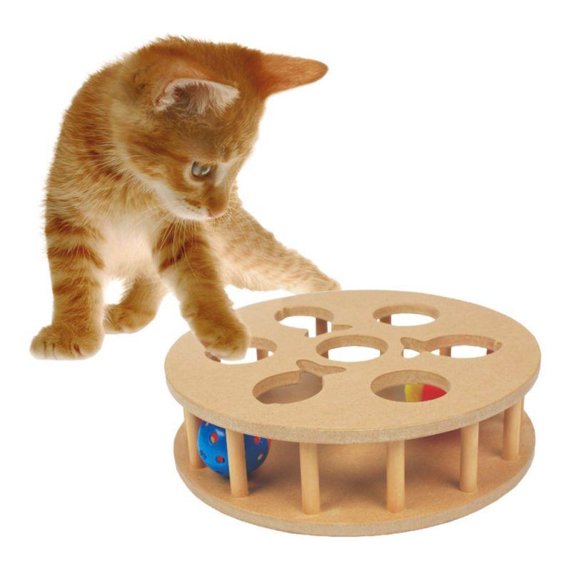 Heim   Cat-IQ-Trainingsspiel rund mit Jingle Bällen
