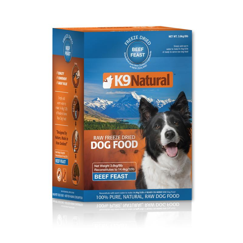 K9 Natural | Freeze Dried Beef Feast