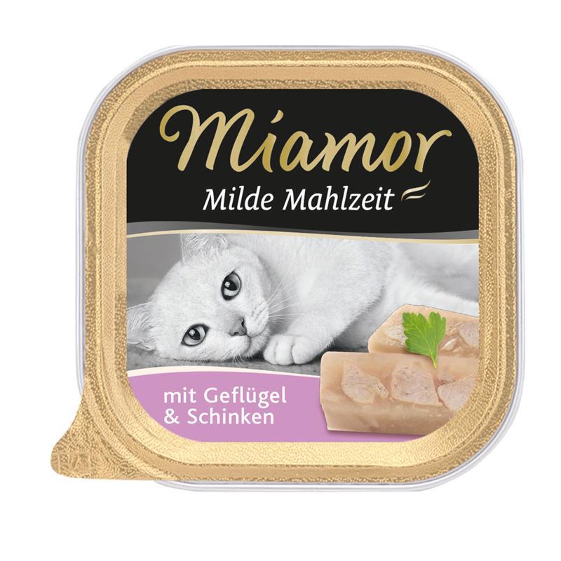 Miamor   Milde Mahlzeit mit Geflügel & Schinken