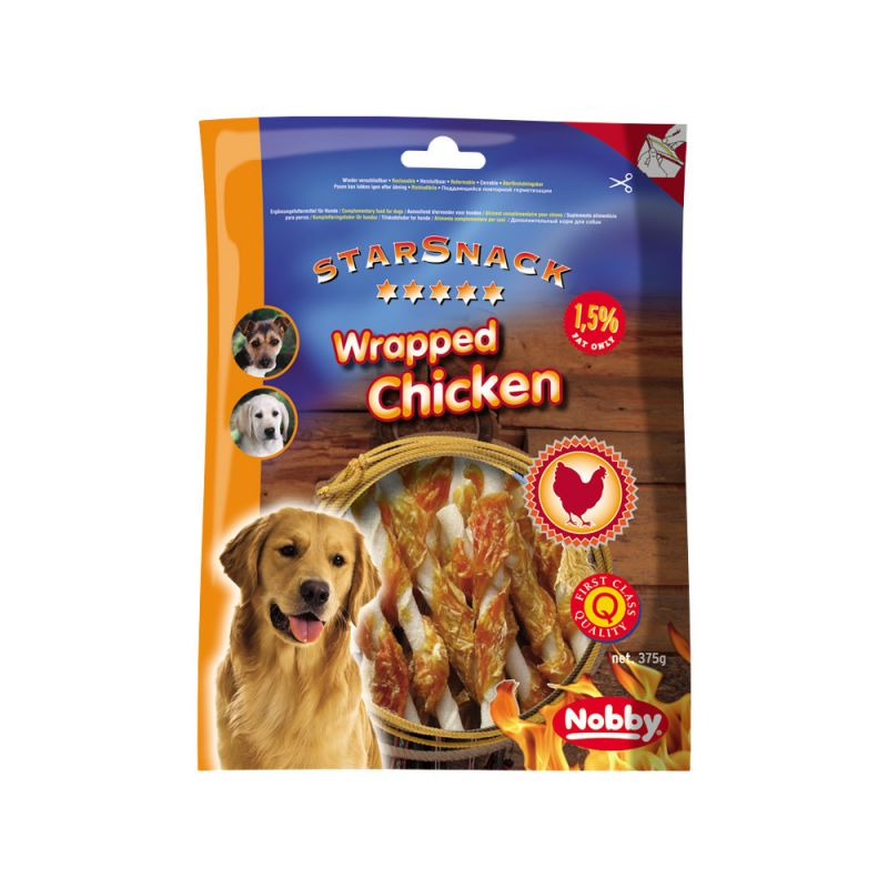 Nobby | StarSnack Barbecue WRAPPED CHICKEN