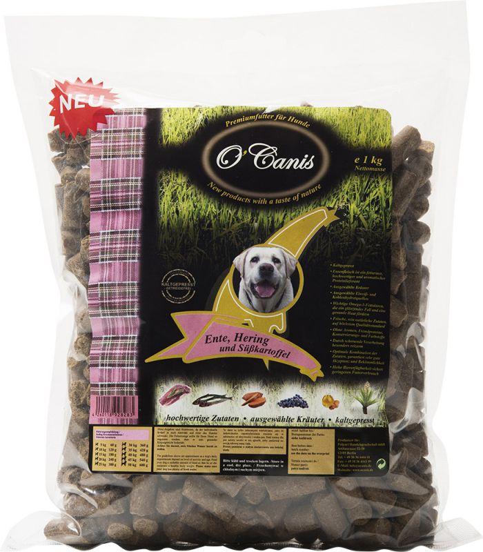 O'Canis   Premiumfutter Ente, Hering und Süßkartoffel, getreidefrei