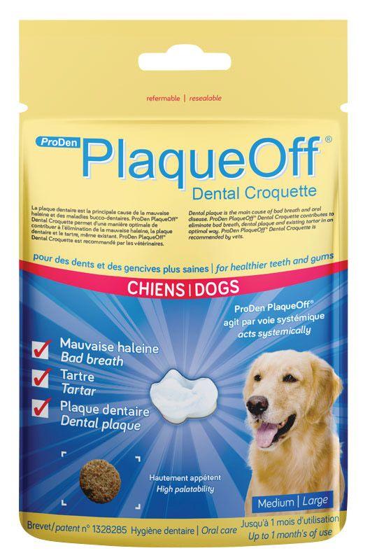 PlaqueOff | Dental Croquette