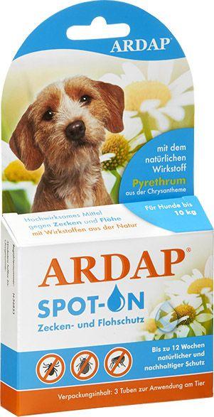 Ardap | Spot On für kleine Hunde