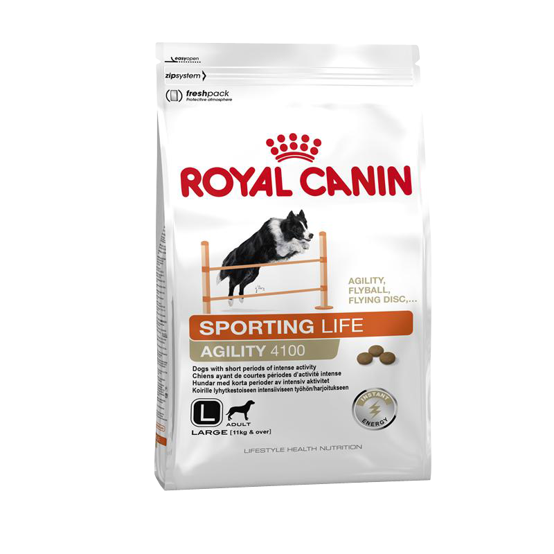 Royal Canin | Lifestyle Health Nutrition Sporting Life Agility 4100