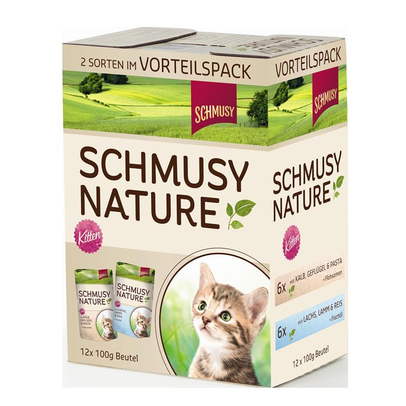 Schmusy   Nature Kitten Multipack