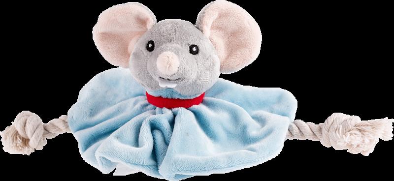 Trixie   Hundekönig Maus Tuch Leopold mit Stimme